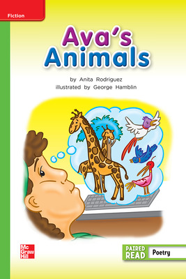 Reading Wonders, Grade 2, Leveled Reader Ava's Animals, Beyond, Unit 2, 6-Pack