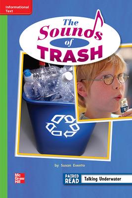 Reading Wonders, Grade 2, Leveled Reader The Sounds of Trash, ELL, Unit 3, 6-Pack