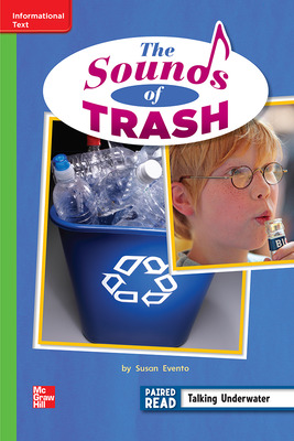 Reading Wonders, Grade 2, Leveled Reader The Sounds of Trash, On Level, Unit 3, 6-Pack