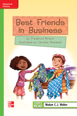 Reading Wonders, Grade 3, Leveled Reader Best Friends in Business, Beyond, Unit 3, 6-Pack