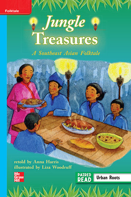 Reading Wonders, Grade 3, Leveled Reader Jungle Treasures: A Southeast Asian Folktale, ELL, Unit 2, 6-Pack