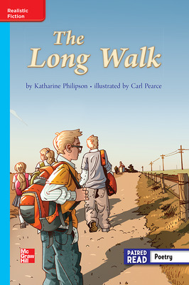 Reading Wonders, Grade 3, Leveled Reader The Long Walk, ELL, Unit 2, 6-Pack