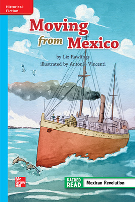 Reading Wonders, Grade 3, Leveled Reader Moving from Mexico, On Level, Unit 2, 6-Pack