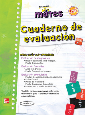 My Math Spanish Assessment Masters Grade 4