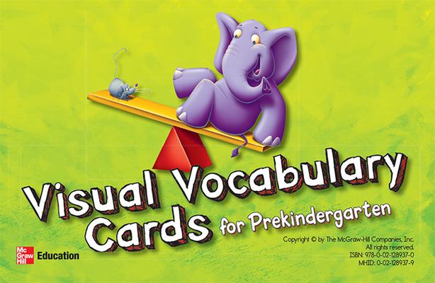 McGraw-Hill My Math, Grade PK, Visual Vocabulary Cards