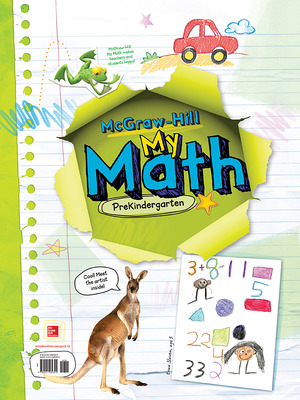 McGraw-Hill My Math textbook for PreK