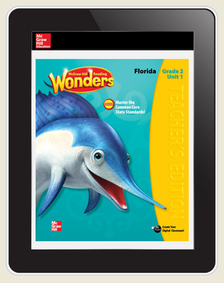 Reading Wonders Florida Student Workspace 5 Year Subscription Grade 2