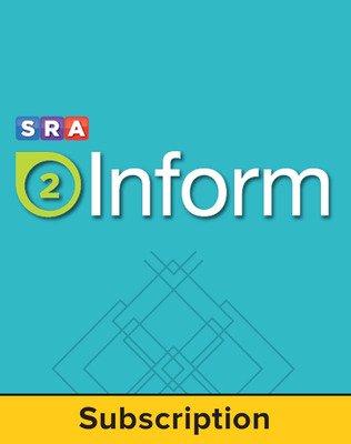 SRA 2Inform Teacher Subscription, 6-Year