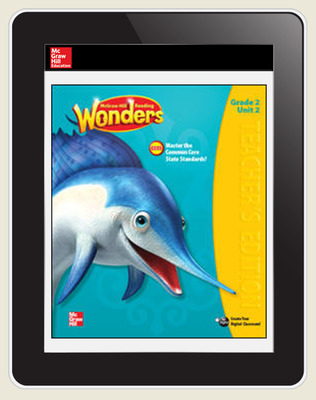 OKS Reading Wonders Student Online Workspace 1 Year Online Subscription Grade 2