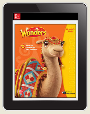 OKS Reading Wonders Student Online Workspace 1 Year Online Subscription Grade 3