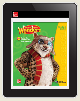 OKS Reading Wonders Student Online Workspace 1 Year Online Subscription Grade 4