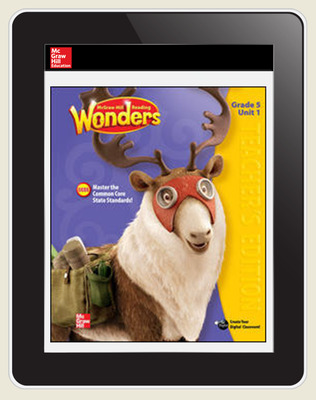 OKS Reading Wonders Student Online Workspace 1 Year Online Subscription Grade 5