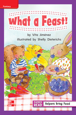 Reading Wonders, Grade 1, Leveled Reader What a Feast!, ELL, Unit 6, 6-Pack