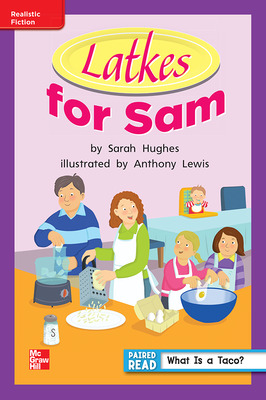 Reading Wonders, Grade 1, Leveled Reader Latkes for Sam, ELL, Unit 6, 6-Pack