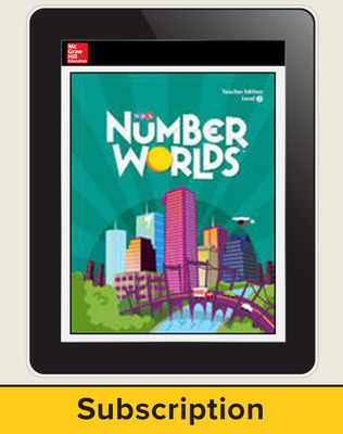 Number Worlds Levels A-J, 6-year Teacher License