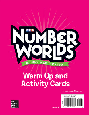 Number Worlds, Level B Activity and Warmup Cards