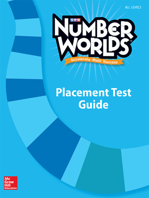 Number Worlds, Placement Test Guide