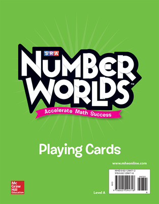 Number Worlds Level A Playing Cards