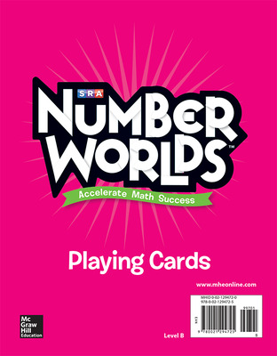 Number Worlds Level B Playing Cards