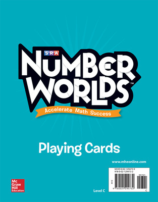 Number Worlds Level C Playing Cards