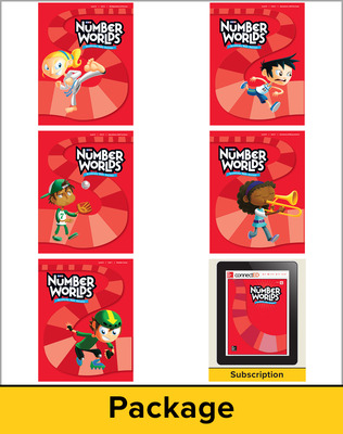 Number Worlds Level G, Student Materials Bundle (5 students, 1-year)