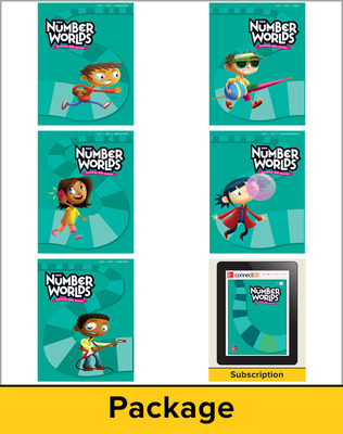 Number Worlds Level I, Student Materials Bundle (5 students, 1-year)