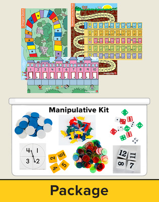 Number Worlds Level D, Manipulatives Plus Pack