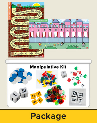 Number Worlds Level E, Manipulatives Plus Pack
