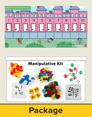 Number Worlds Level F, Manipulatives Plus Pack