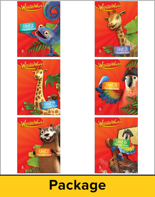 Reading Wonderworks Decodable Reader Package 6PK Grade 1