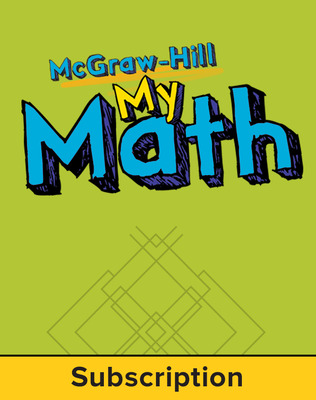 McGraw-Hill My Math, Grade PK, Online eStudent Flipbook, 6 year subscription