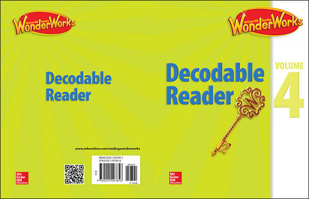 Reading WonderWorks Decodable Reader Volume 4 Grade 2-3