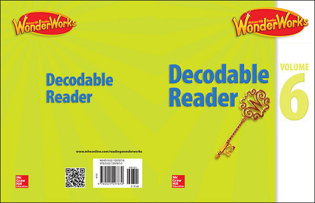 Reading WonderWorks Decodable Reader Volume 6 Grade 2-3