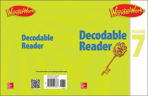 Reading WonderWorks Decodable Reader Volume 7 Grade 2-3