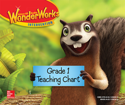 Reading Wonderworks Teaching Chart Grade 1