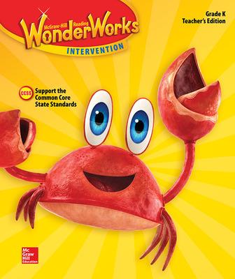 Reading Wonderworks Teacher Edition Grade K