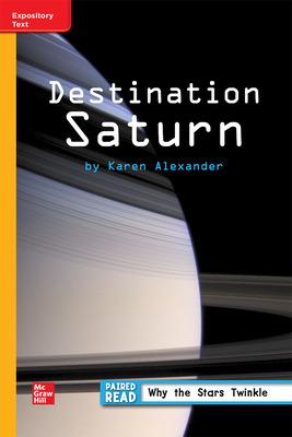 Reading WonderWorks Apprentice Destination Saturn Unit 3 Week 3 Grade 3