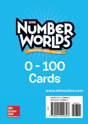 Number Worlds 0-100 Cards
