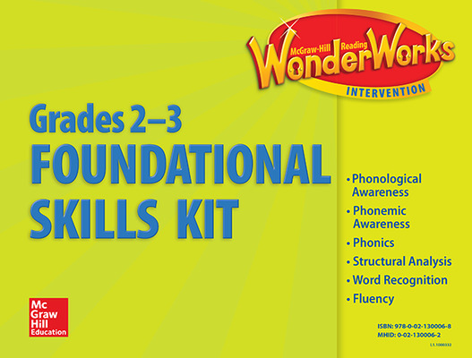 Reading Wonderworks Foundational Skills Kits Grade 2-3