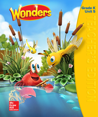 Wonders Teacher's Edition, Volume 5, Grade K