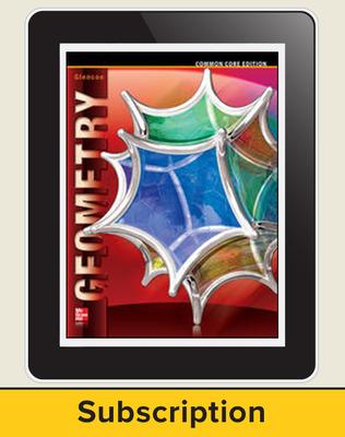 Geometry, eTeacher Edition 7-year subscription