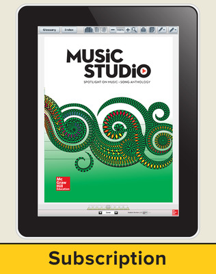Spotlight on Music, Grade 4 Online Student Course Ten  Seat Add-On, 1 Year Subscription
