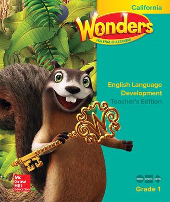 Wonders for English Learners CA G1 Teacher's Edition