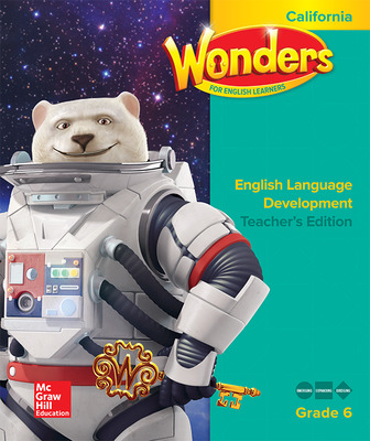 Wonders for English Learners CA G6 Teacher's Edition