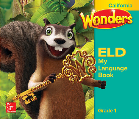 Wonders for English Learners CA G1 My Language Book