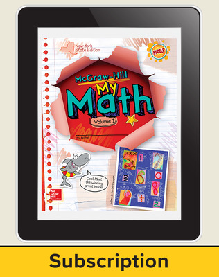 CUS New York My Math Grade 1 Student Online Edition 1 year subscription