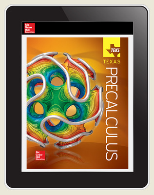 Texas Precalculus eStudent Edition 8 year subscription