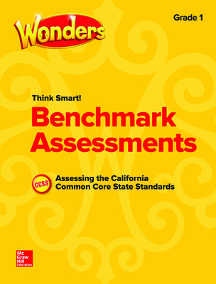 Wonders Think Smart! CA Benchmark Assessments Grade 1