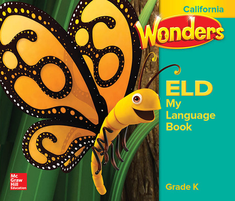 Wonders for English Learners CA GK My Language Book