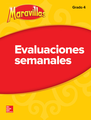 Lectura Maravillas | Student Weekly Assessment Grade 4